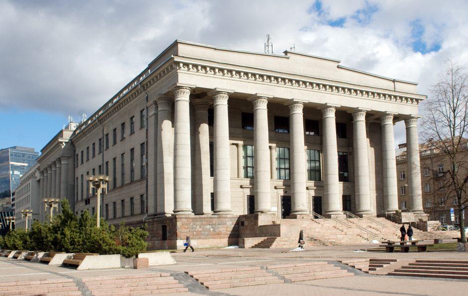 Lietuvos nacionalinės bibliotekos pastatui – 50 metų