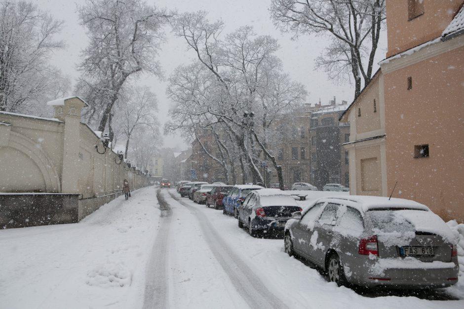 Patarimai vairuojantiems žiemą