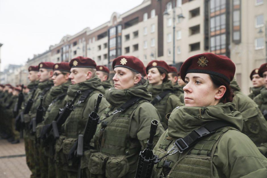 Krašto apsaugos savanoriai mini 28-ąsias pajėgų įkūrimo metines