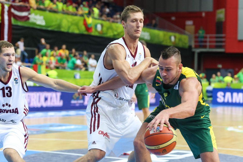 Eurobasket: Lietuva - Latvija