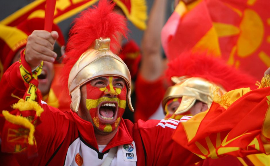 Makedonai užkūrė pirtį Europos čempionams