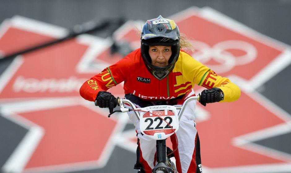 BMX dviratininkė V. Rimšaitė – Europos vicečempionė!