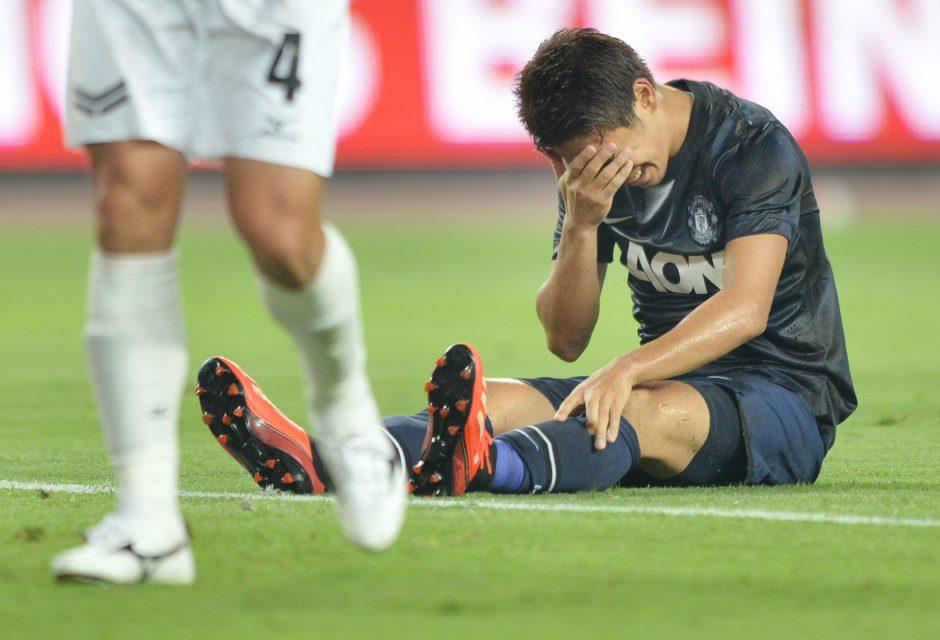 Raudonieji velniai buksuoja: pralaimėta dar vienam Japonijos klubui