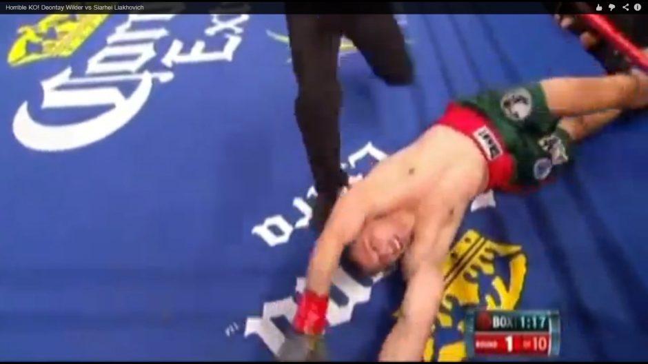 Žiaurus bokso pasaulis: po nokauto sportininką apėmė traukuliai
