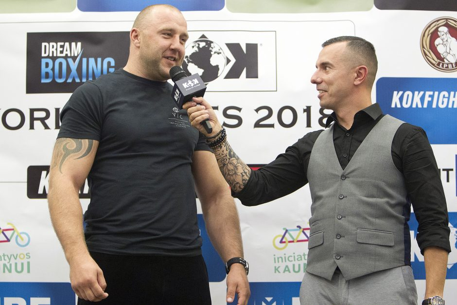 """""""Dream Boxing"""" ir KOK turnyro svėrimai"""