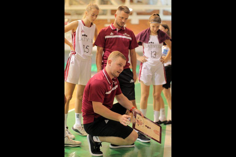 Kontrolinės. Lietuva U16 – Latvija U16 69:65