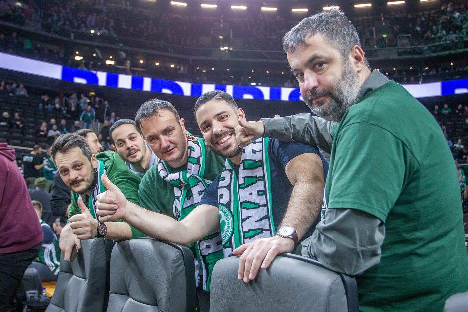 """Eurolyga: """"Žalgiris"""" – """"Panathinaikos"""" 82:69"""
