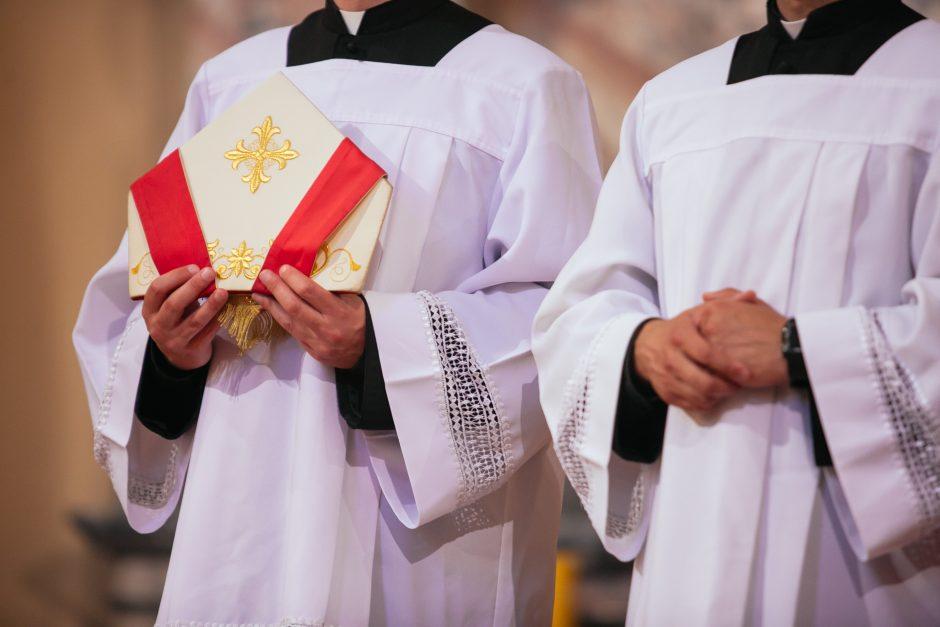 Į kunigų seminarijas priimta 11 naujokų