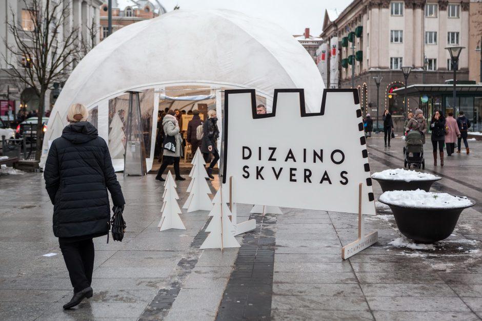 Kalėdiniame dizaino skvere sostinėje – daugiau kaip šimtas išskirtinių kūrėjų