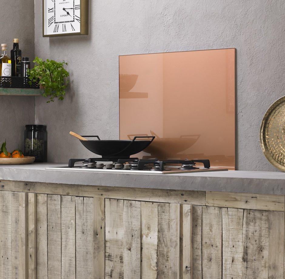 Virtuvės sienelė – įspūdingas akcentas