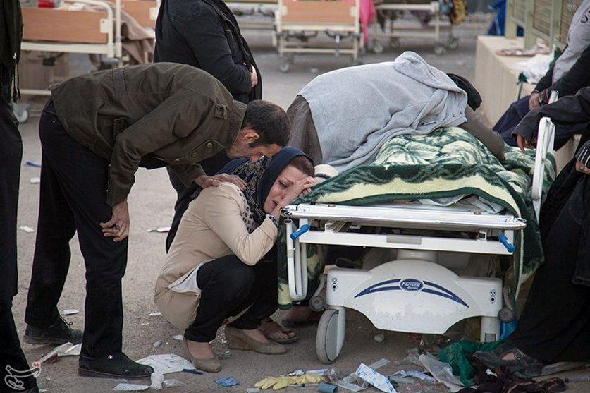 Per stiprų žemės drebėjimą Irane ir Irake žuvo mažiausiai 350 žmonių