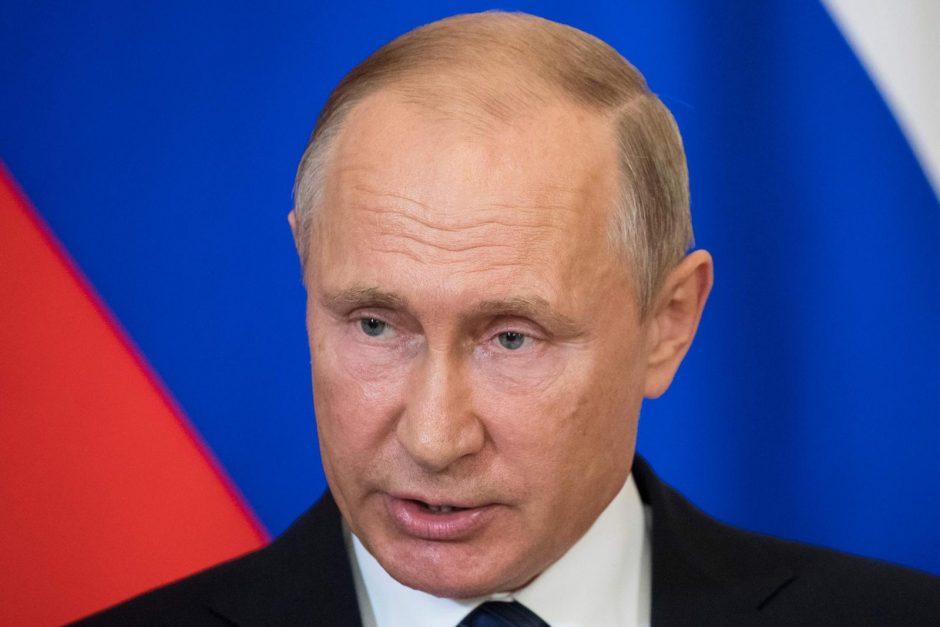 V. Putinas pasirašė įstatymą dėl atsakomųjų sankcijų Vakarų šalims