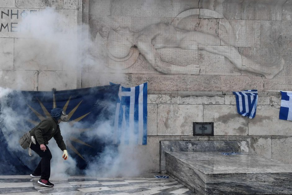 Protestas Atėnuose