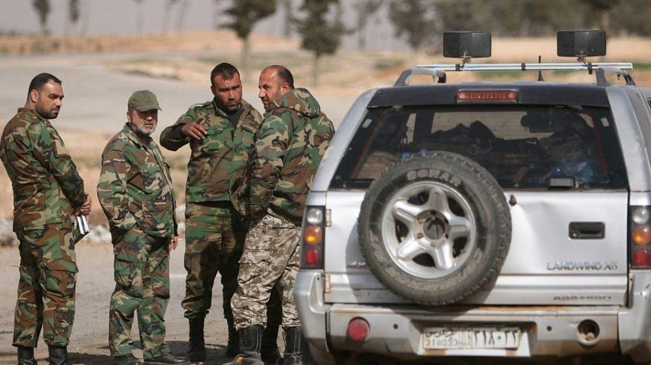 JAV Sirijoje turi gerokai daugiau karių nei iki šiol skelbta