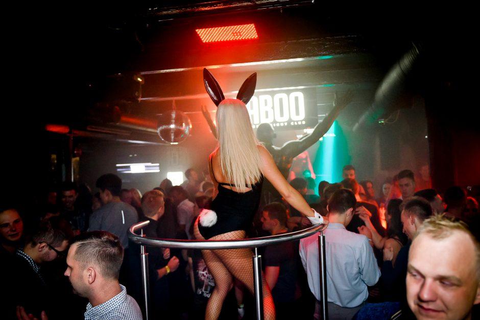 """Playboy"" vakarėlis ""Taboo"" klube"