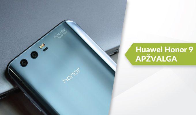 """""""Huawei Honor 9"""" apžvalga: ar grožis nepareikalavo aukų?"""