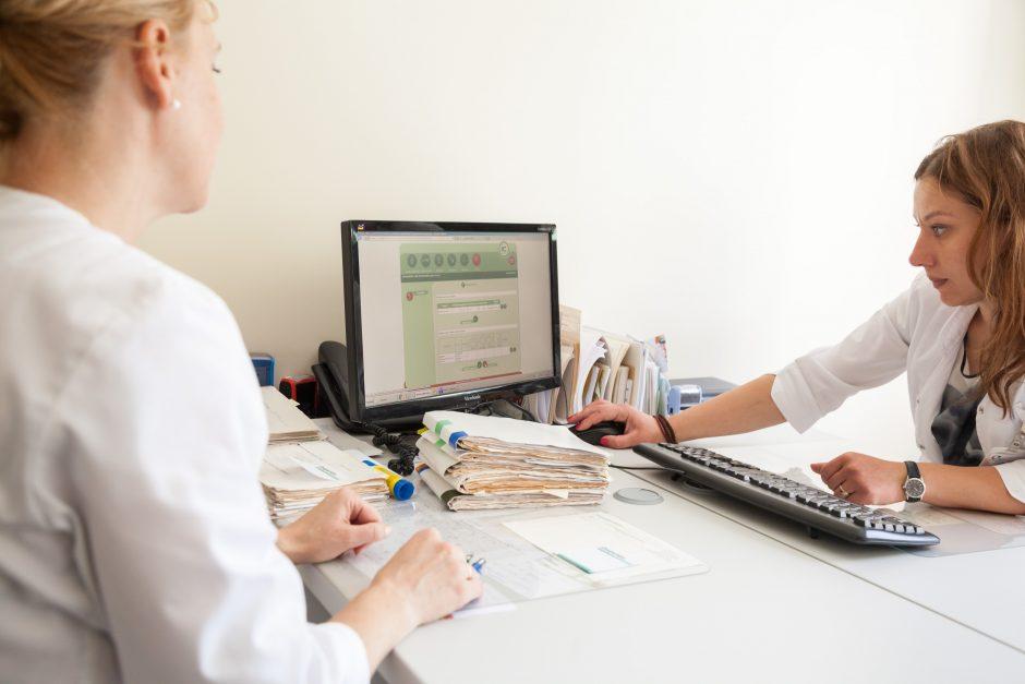 Vilniečiai rugsėjį teiks elektroninius vaiko sveikatos pažymėjimus