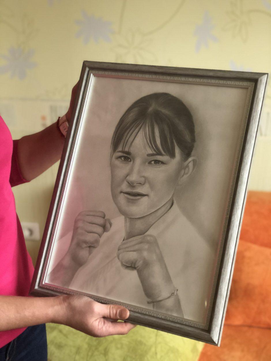 Karatė čempionė I. Mikštaitė: namuose saugoju viską, kas miela širdžiai