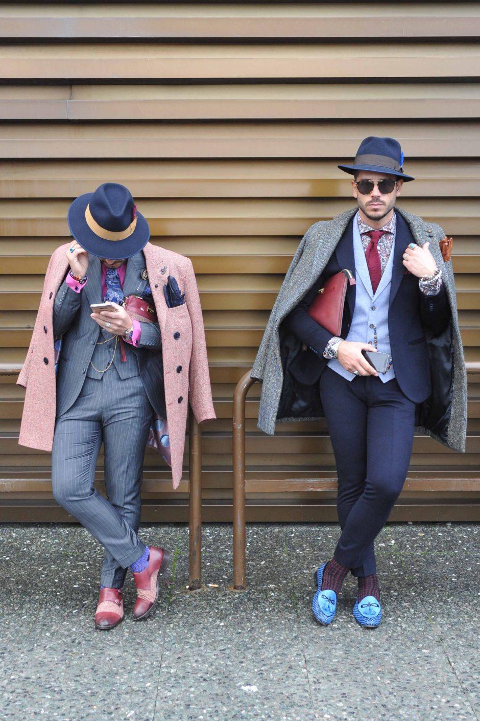 Vyrų mada: lietuviams siūlo išlįsti iš užburto spalvų trikampio