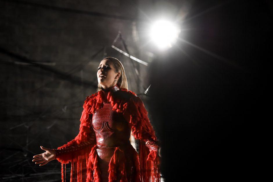 """Monika Marija pristato """"Eurovizijai"""" skirtą kūrinį: tai – visiškai mano stichija"""