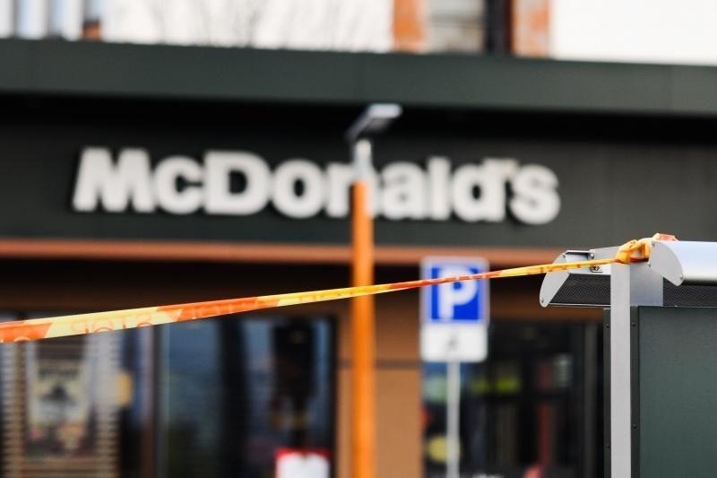 """Moters pykčio proveržis """"McDonald's"""": pasigedusi kečupo, sumušė restorano vadybininką"""