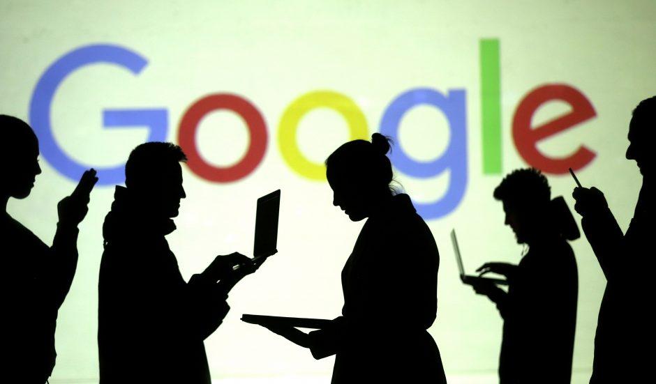 """""""Google"""" kirtis: blokavo dezinformacijos paskyras, siejamas su Iranu"""