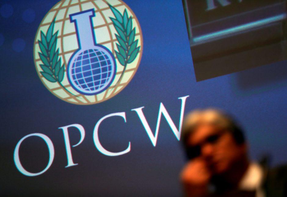 Maskva: dar per anksti kalbėti apie Rusijos pasitraukimą iš OPCW