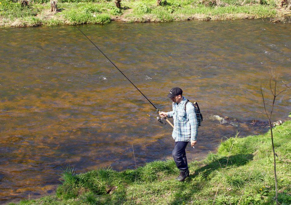 """Svarbi žinia žvejams: aplinkosaugininkai pradeda akciją """"Lašiša"""""""