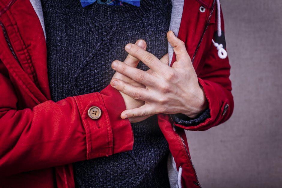 Tyrimas: lietuviai gyvenimo būdą keistų tik susidūrę su infarktu ar insultu