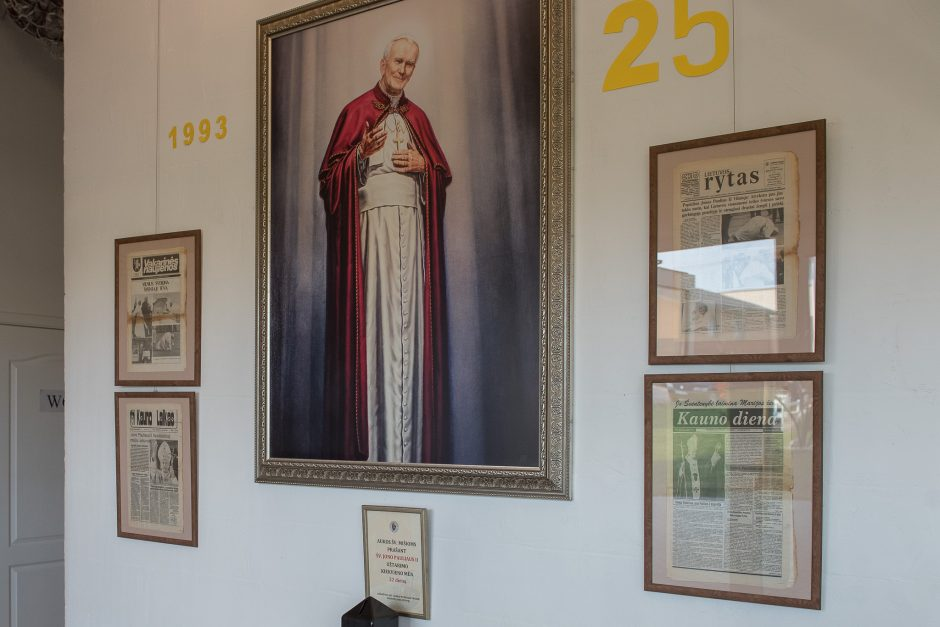Šv. Jono Pauliaus II koplyčioje – išskirtinė paroda kauniečiams
