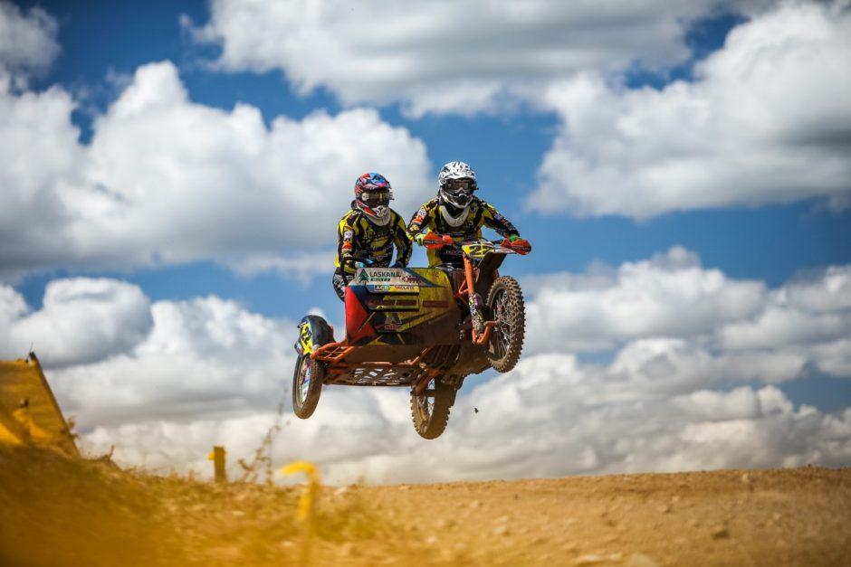 Utenoje savaitgalį paaiškės Lietuvos motokroso čempionai
