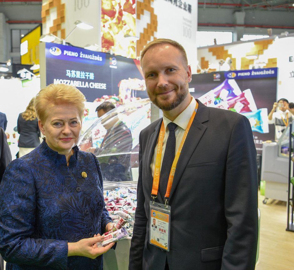 Kinijoje – išskirtinis dėmesys lietuviškiems sūreliams