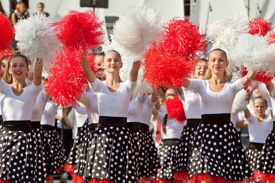 Į Dainų šventę – su šimtmečio fanfaromis ir laisvės vėju