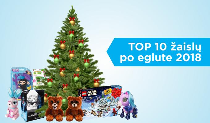 Populiariausių žaislų po eglute dešimtukas: ką dovanoti vaikams (apžvalga)