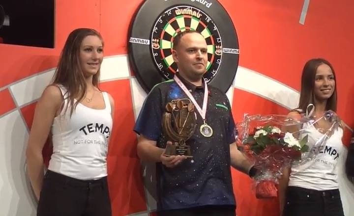 D. Labanauskas laimėjo Danijos atvirąjį smiginio čempionatą
