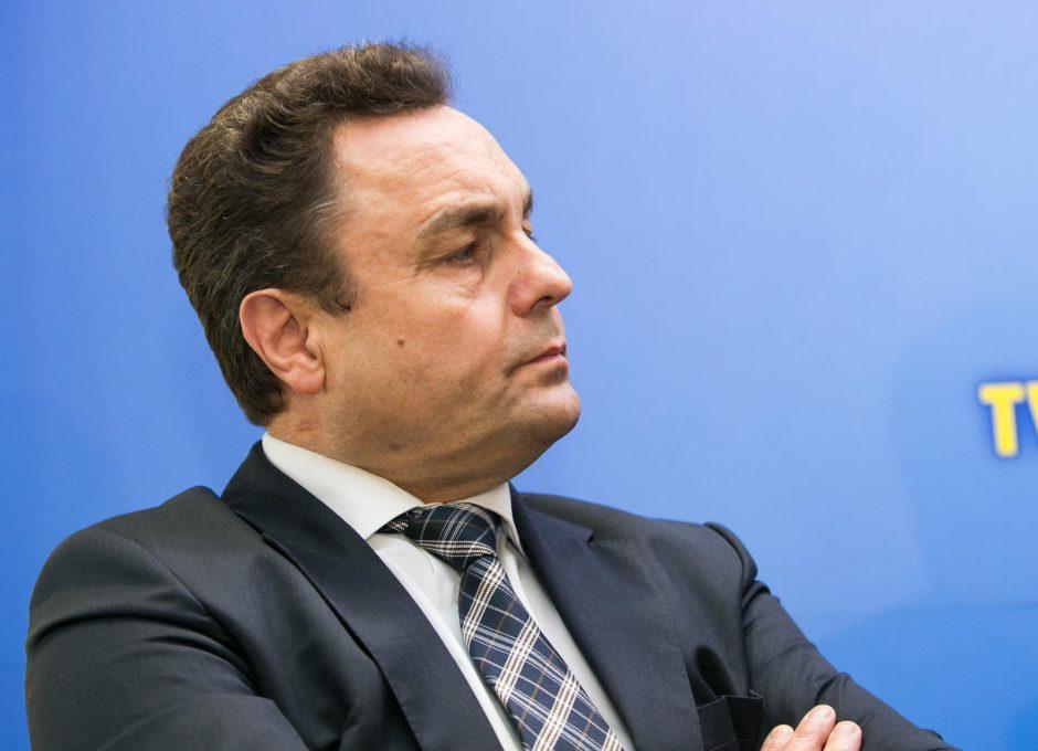 P. Gražulis sulaukė bausmės: narystė partijoje sustabdyta metams