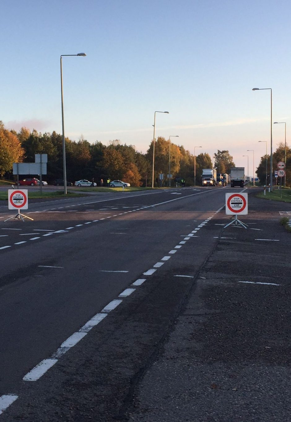 """Per reidą """"Via Baltica"""" kelyje įkliuvo ir du girti vilkikų vairuotojai"""