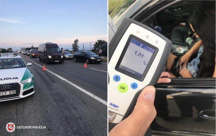 Pernai girti vairuotojai sukėlė mažiau eismo įvykių, bet buvo gerokai labiau įkaušę