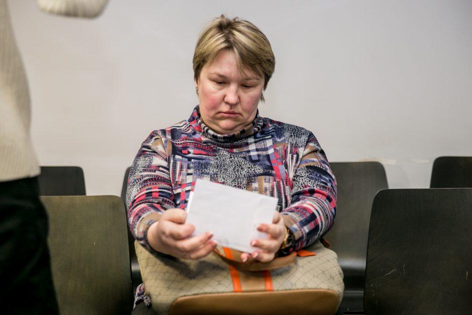 Afera kaltinama buhalterė laikosi savo: jos bendrininke buvo progimnazijos direktorė