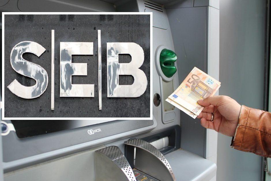 Akibrokštas: banko kortelė galioja, bet pinigų neduoda
