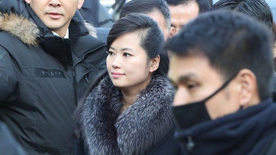 Š. Korėjos delegacija atvyko į P. Korėją apžiūrėti olimpiados sąlygų