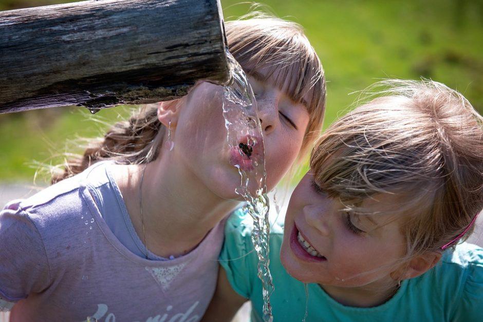 Sausra neaplenkė ir pakaunės – padidėjo geriamojo vandens poreikis