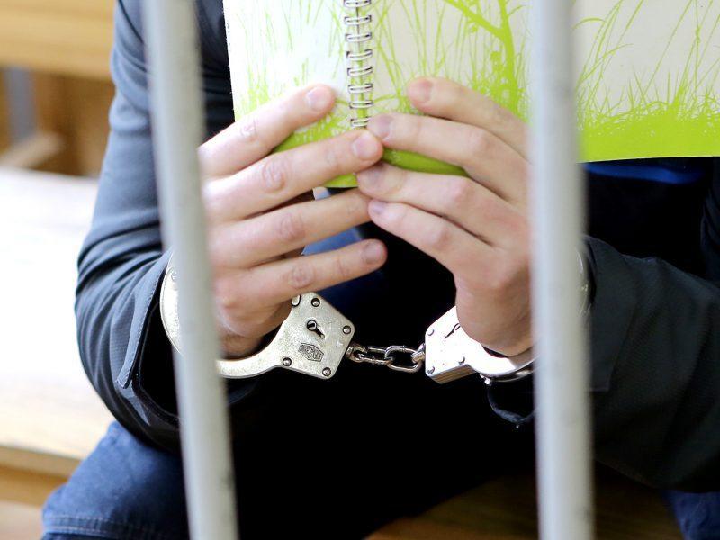 Nuo policijos pabėgęs teisiamasis laisvėje išbuvo pusvalandį