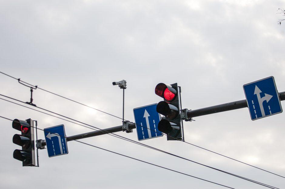 Kauno sankryžos apginkluojamos kameromis: ką jos fiksuoja?