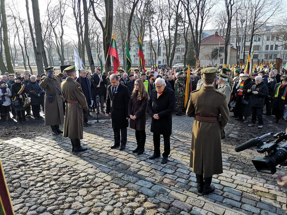 Įgyvendino A. Lukšos svajonę – iškilmingai atidaryta Partizanų alėja