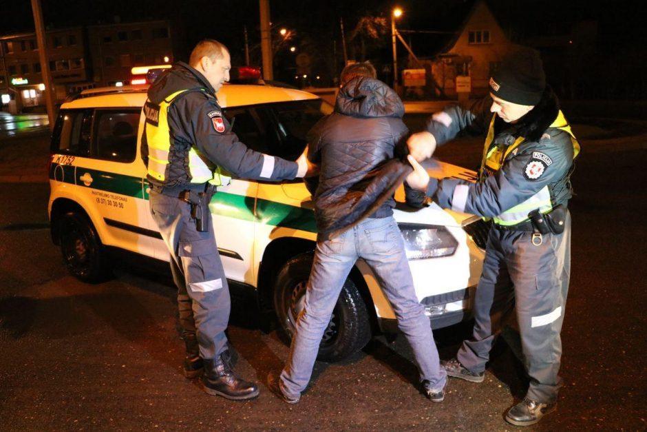 Po eismo nelaimės – tiesiai į areštinę