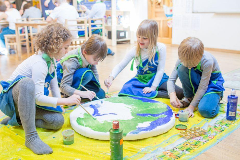 Kaip atrodo mokykla, sukurta vaikams