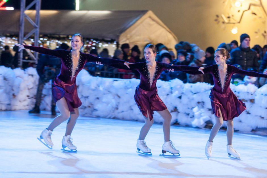 Čiuožykla Raudondvaryje lankytojų lauks visą žiemą