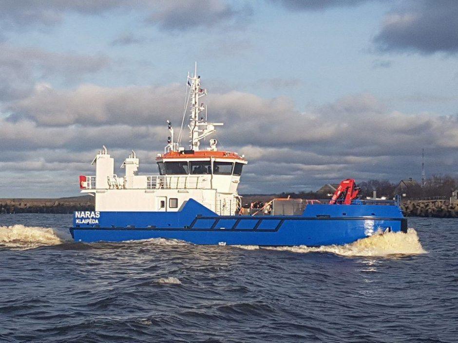 Saugią Klaipėdos uosto laivybą užtikrins naujas laivas