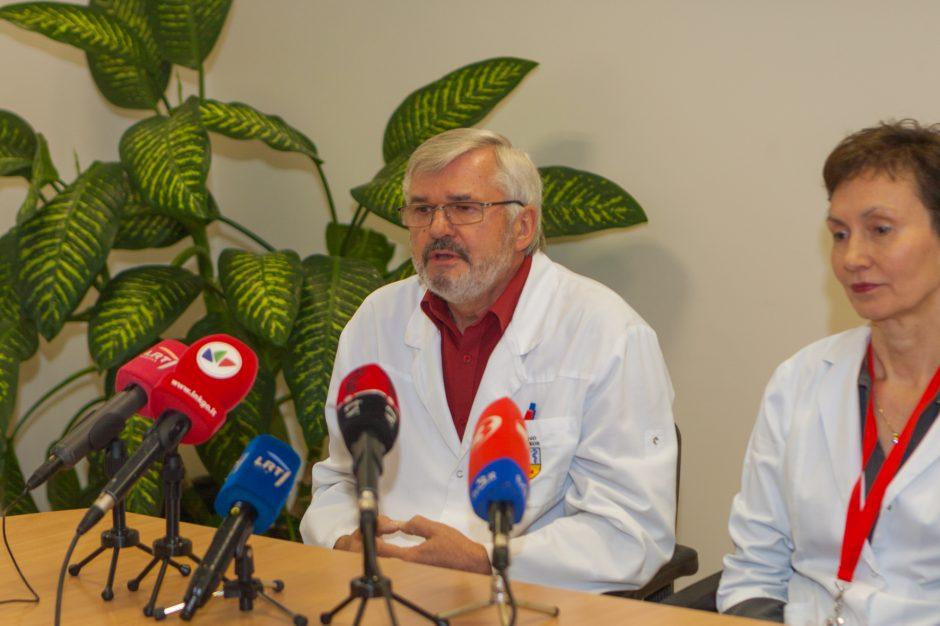 Spaudos konferencija apie Kaune gimusį ketvertuką